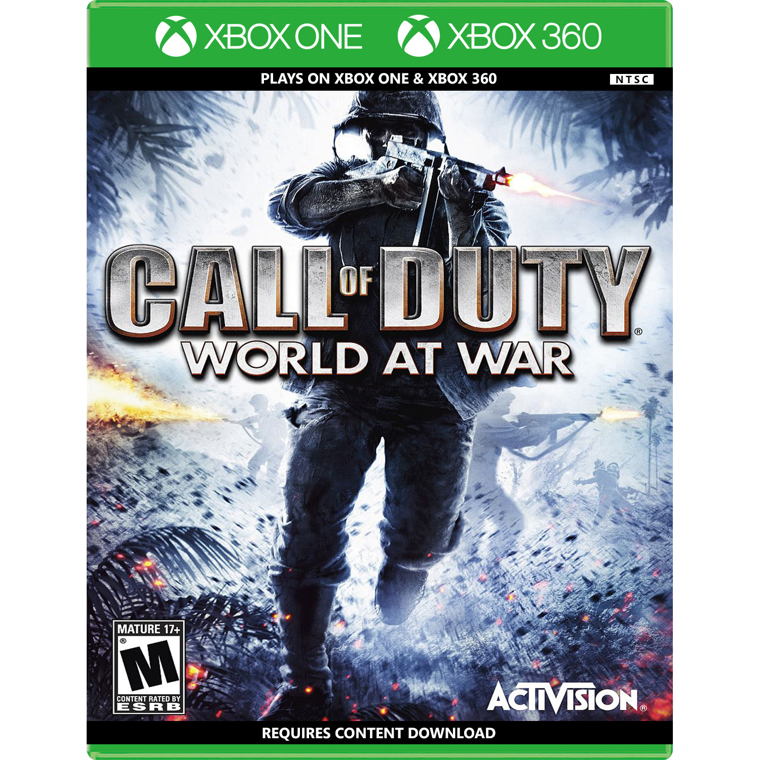 Details about Call of Duty: World at War (Backwards Compatible) Xbox 360  [Brand New]
